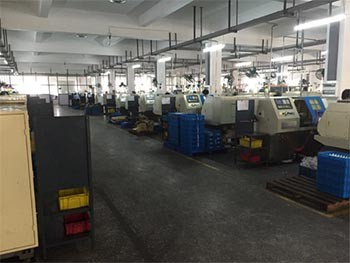 CNC Machine Shop Cina